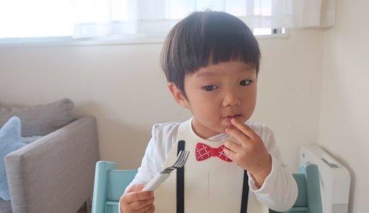 幼児食 フォーク使い方(1歳半/あおいママさん):スプーンの選び方