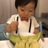 幼児食 フォークの使い方(1歳半/あおいママさん)成長ホルモン