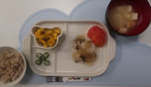 幼児食 炊き込みご飯(2歳/あおいママさん):飲み込めない