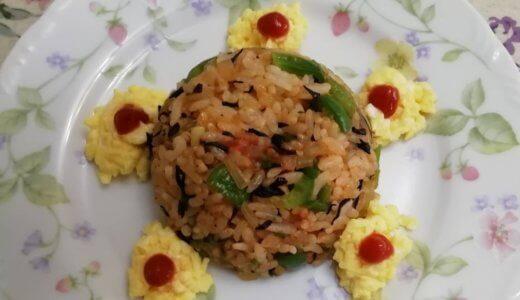 幼児食『ひじき入りオムライス』の作り方(2歳半~3歳/栄養士)