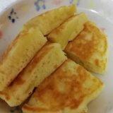幼児食『りんごホットケーキ』『りんごトースト』の作り方(2歳半~3歳/栄養士)