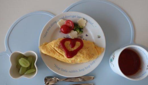 幼児食 オムライス(2歳4か月/あおいママさん):取り分け